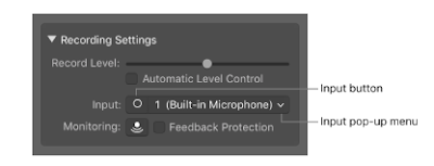 Garageband Audio Interface