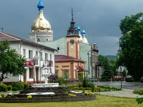 Болехів Івано-Франківська область. Площа Івана Франка
