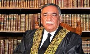 Chief Justice Asif Saeed Khosa will retire today
