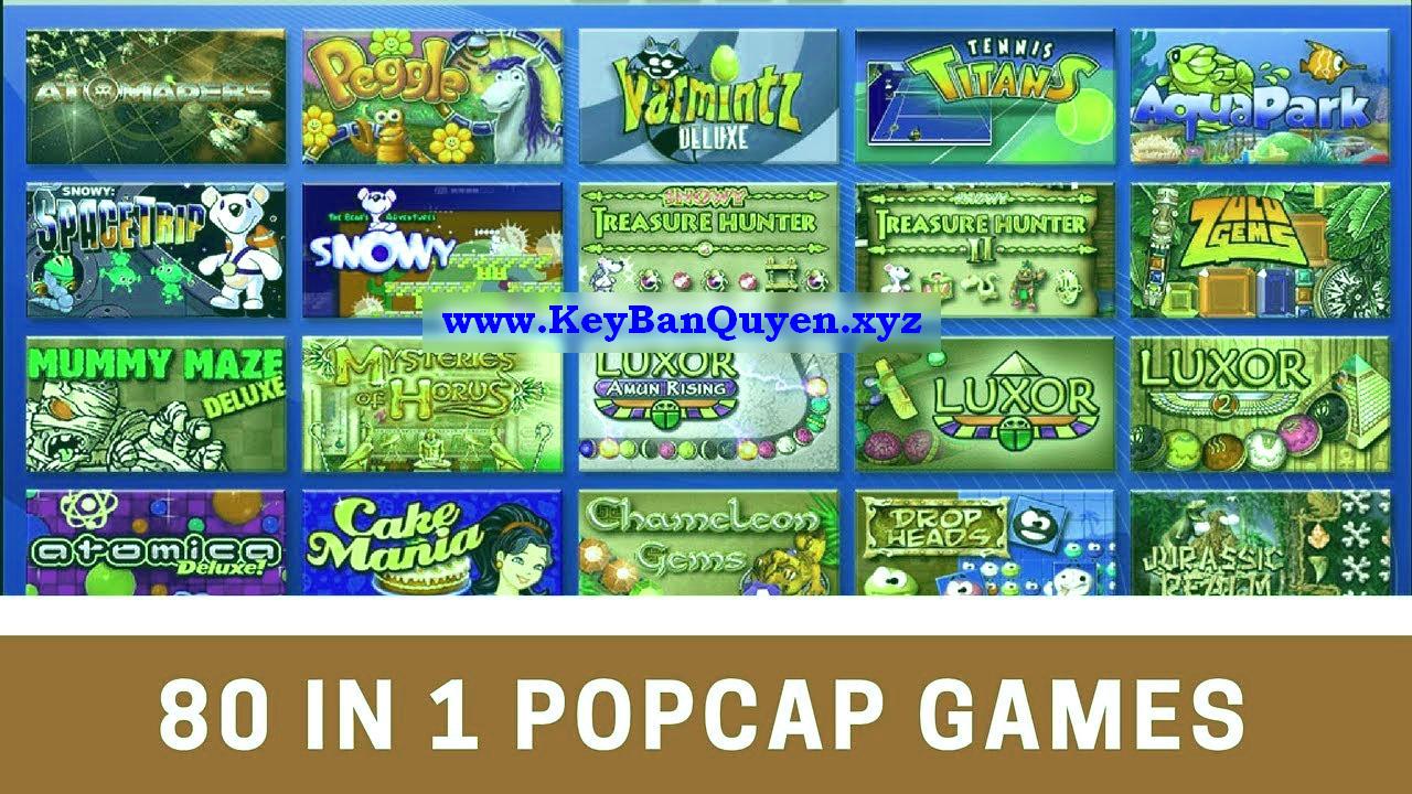 Tổng hợp 80 trò chơi Mini của hãng PopCap Game