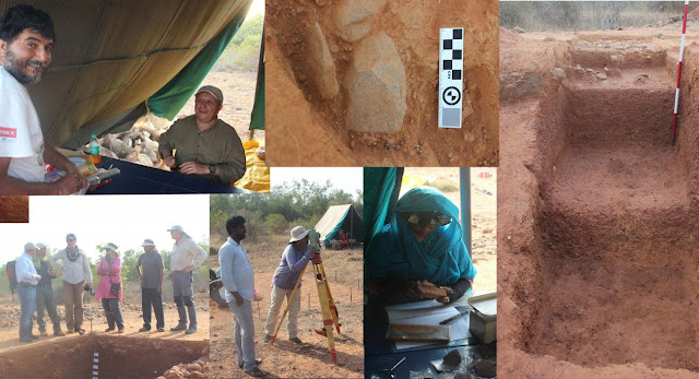 The CENIEH collaborates in the excavation of the Sendrayanpalayam site in India