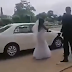 OMG ! Nigerian Bride Called-Off Her Wedding Right Outside The Church, Here is the Reason
