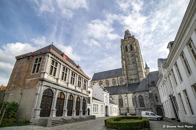 Alrededores de la Colegiata de Santa Valburga - Oudenaarde por El Guisante Verde Project