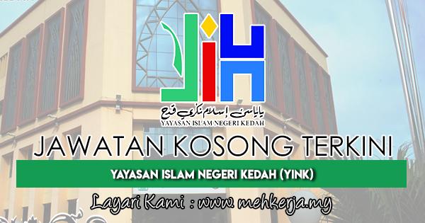 Jawatan Kosong Terkini 2018 di Yayasan Islam Negeri Kedah (YINK)