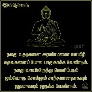 Tamil buddha quote
