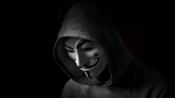 Máscara de Hacker Anonimo