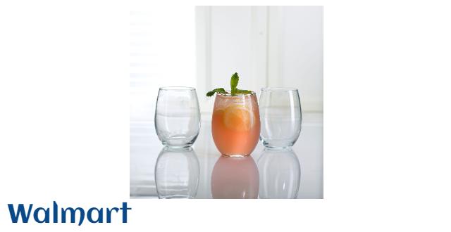 Luminarc 15 oz. Cachet Stemless Wine Glass 12 PC Set