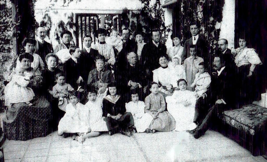 Familia de Acuña y Robles, (fotografía cedida por María José de Acuña)