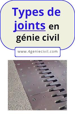 Les joints en construction et génie civil