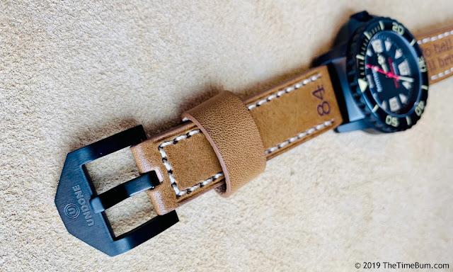 Undone Aqua Pro-Custom Time Bum Santiago  strap