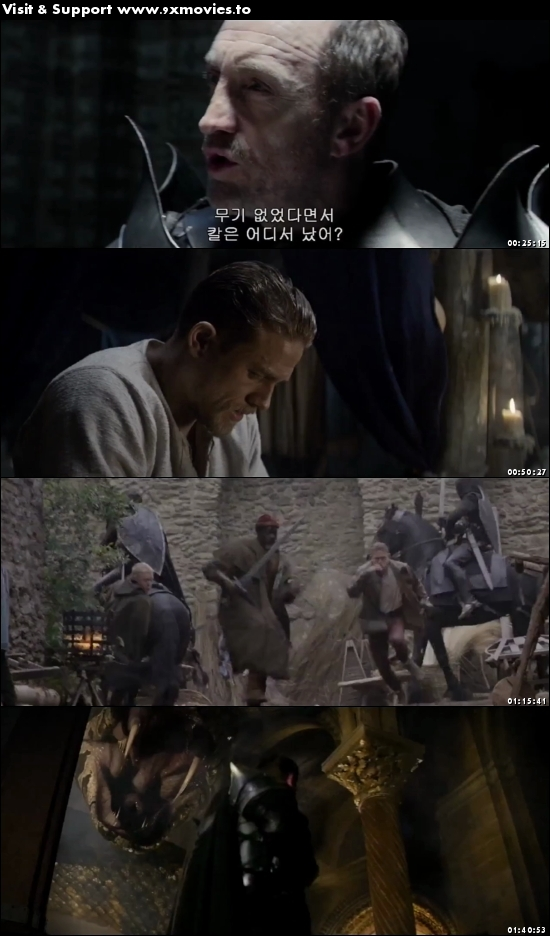 King Arthur Legend of The Sword 2017 English 480p HC HDRip 350MB