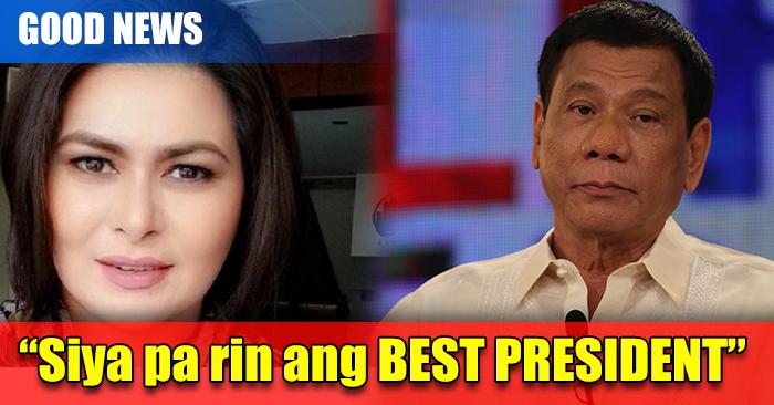 "LOOK: Aiko Melendez Defended Pres. Duterte ""Siya pa rin ang Best President"""