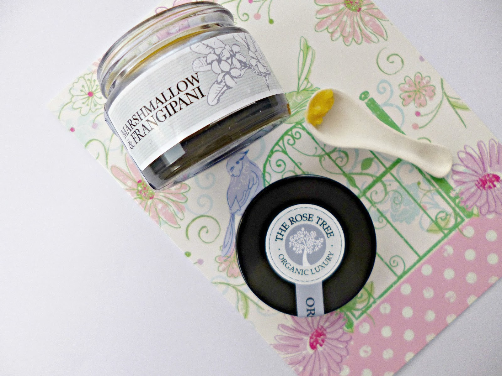 New in: The Rose Tree Intensive balm with Marshmallow and Frangipani