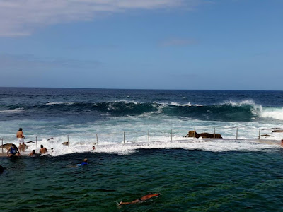 Sydney's Rock Swimming Pool at Bronte Australia