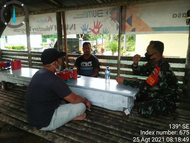 Terciptanya Kemanunggalan TNI dan Rakyat, Personel Jajaran Kodim 0208/Asahan Laskanakan Komsos Dengan Masyarakat