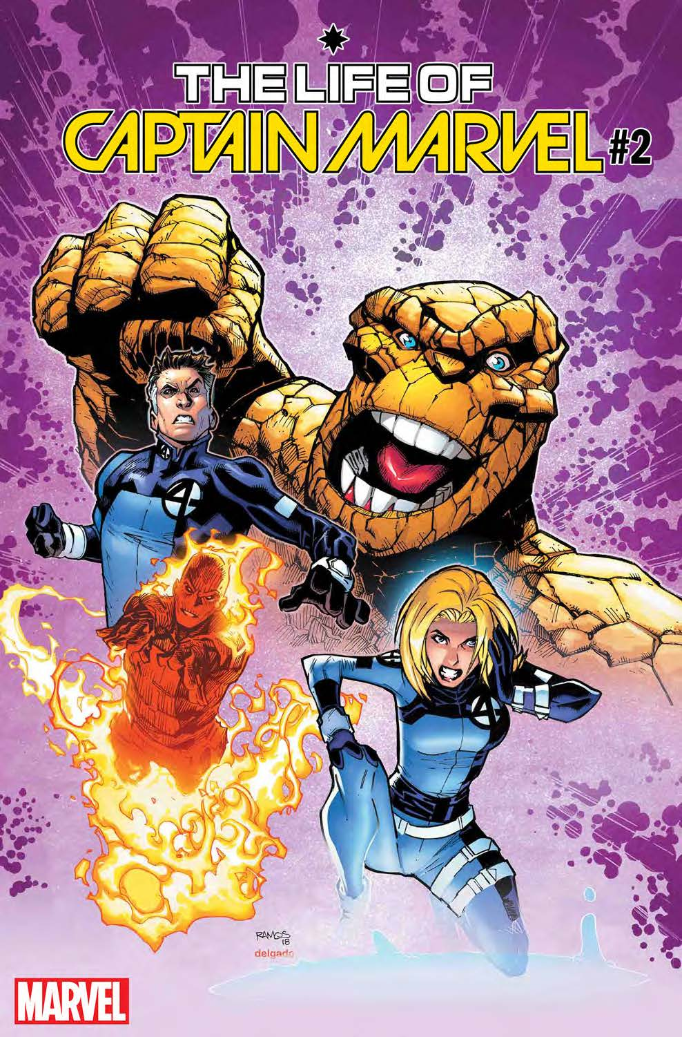 The Return Of The Fantastic Four marvel variant