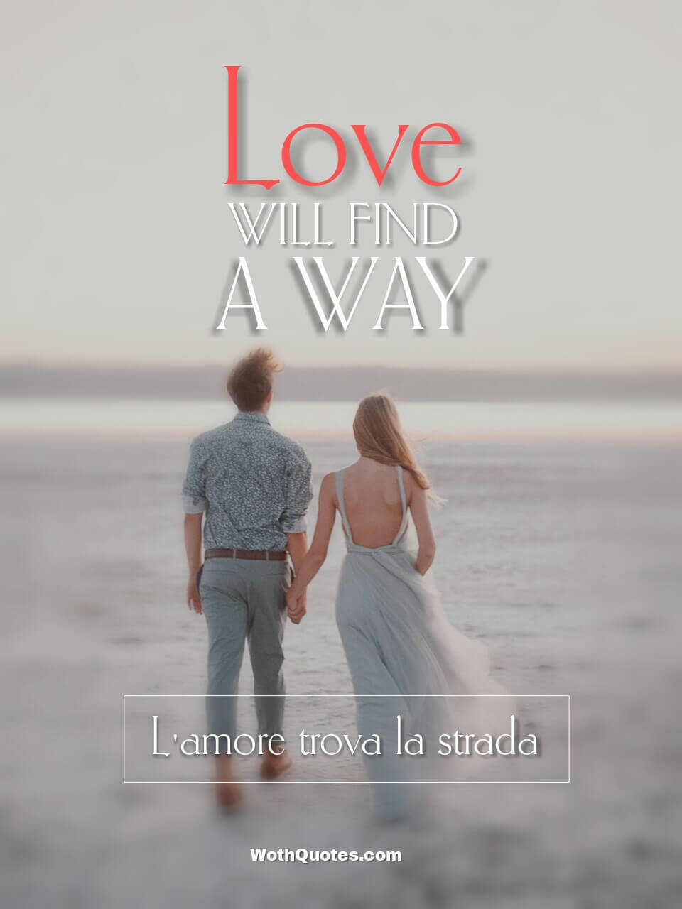 Love Quotes in Italian and English - Citazioni d'amore