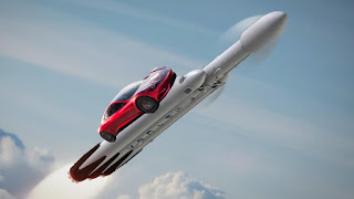 SpaceX will send a Tesla Roadster to space next month