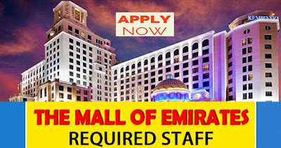 Latest Jobs At Mall Of Emirates