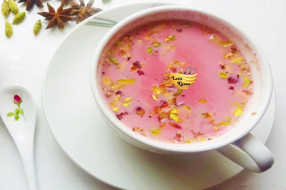 Kashmiri Tea Recipe in Hindi