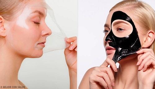masques peel off avec de la g latine pour revitaliser la peau. Black Bedroom Furniture Sets. Home Design Ideas
