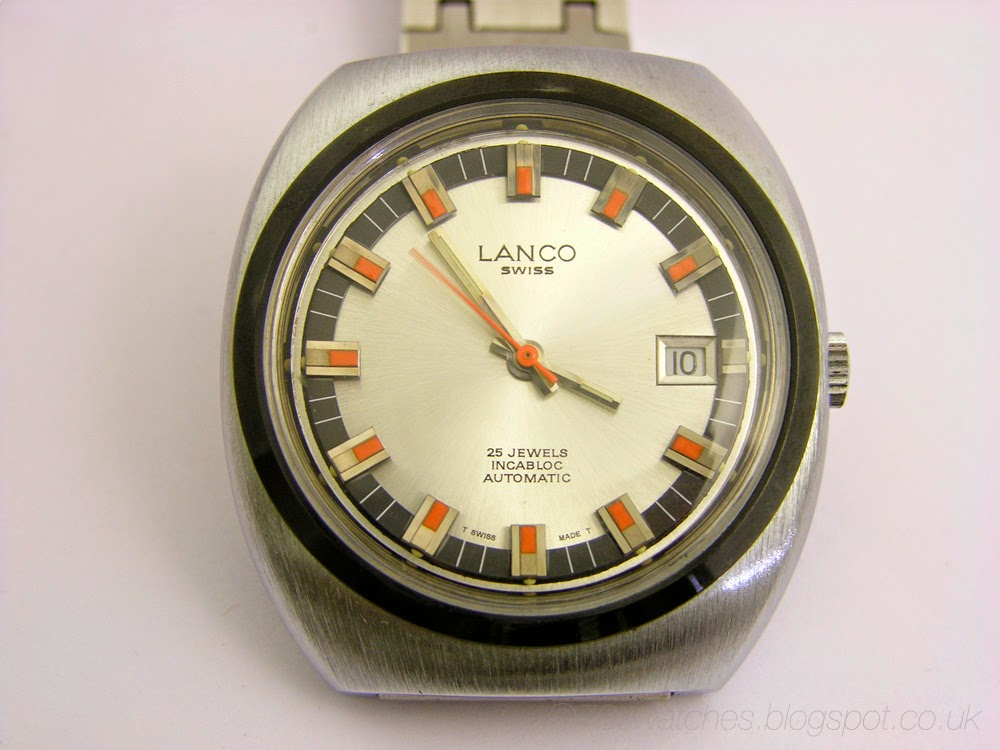 d56c51bdbe2 70s Watches  Retro Langendorf Watch Co - 70s Lanco Automatic - AS 2063