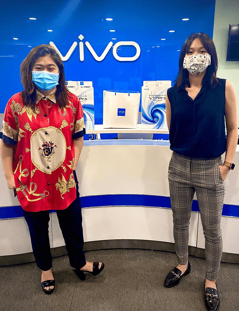 Vivo donates smartphones to medical front-liners in mega swabbing facility