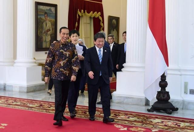 Peningkatan SDM hingga Natuna Jadi Kesepakatan Kerja Sama Indonesia dan Jepang.