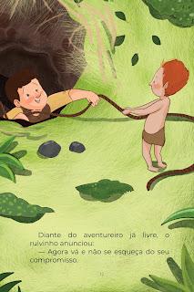 História Curupira (Conta Pra Mim); Imprimir PDF Grátis
