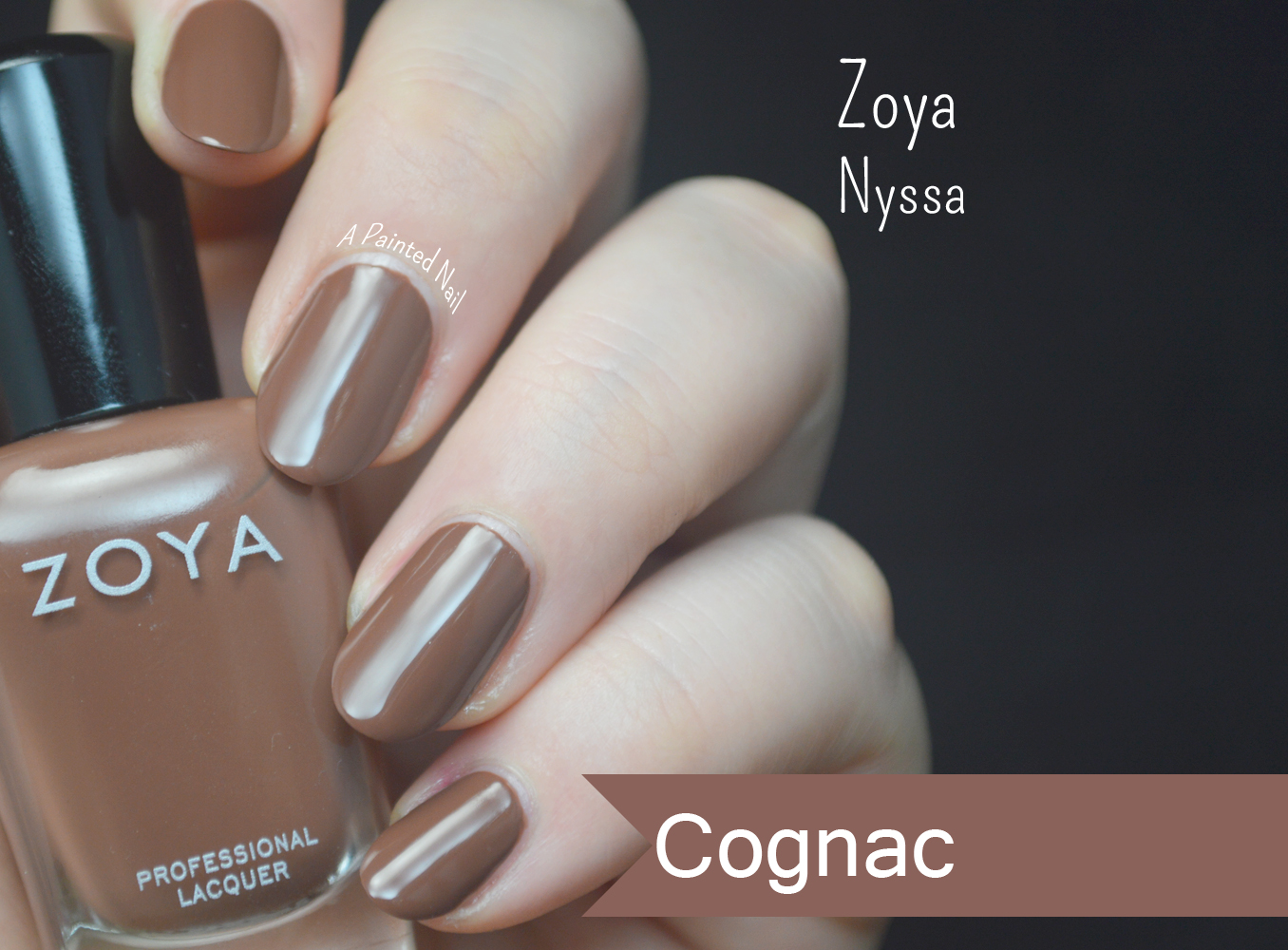 a painted nail zoya nyssa fall winter 2014 color trend
