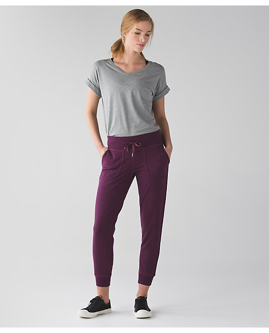 lululemon red-grape-comfy-as-sweat