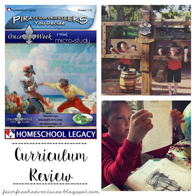 Pirates or Privateers: Unit Study from Homeschool Legacy {Curriculum Review}