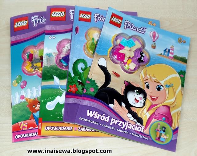 Ina I Sewa Lego Friends Kolekcja Wydawnictwo Ameet