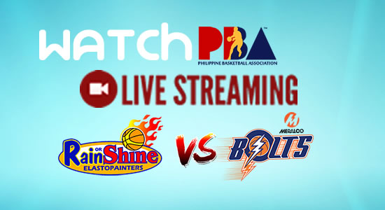 Livestream List: Rain or Shine vs Meralco game live streaming February 2, 2018 PBA Philippine Cup