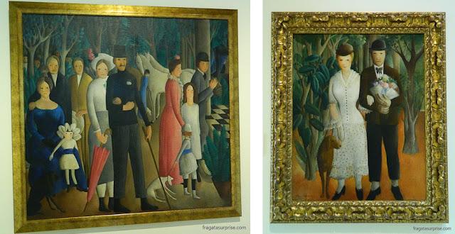Obras de Olga Sacharoff no Museu Nacional de Arte da Catalunha, Barcelona