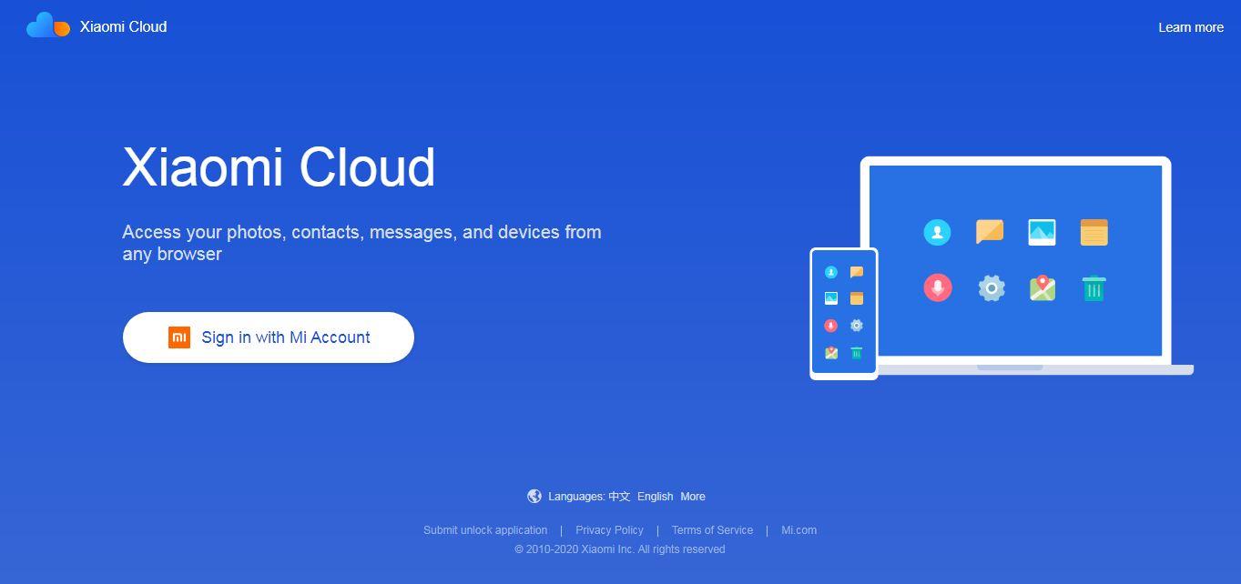 Cara Reset Xiaomi Melalui Mi Cloud