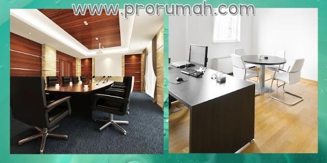 Desain Kantor Dengan Material Kayu