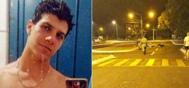 Itumbiara: Jovem morre em acidente de moto