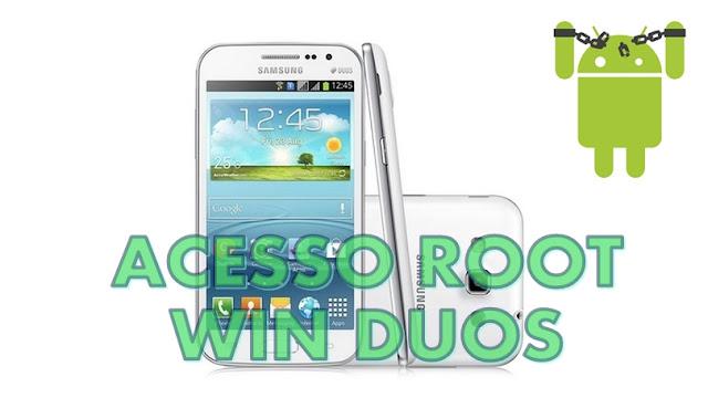 ROOT e CWM no Galaxy Win Duos