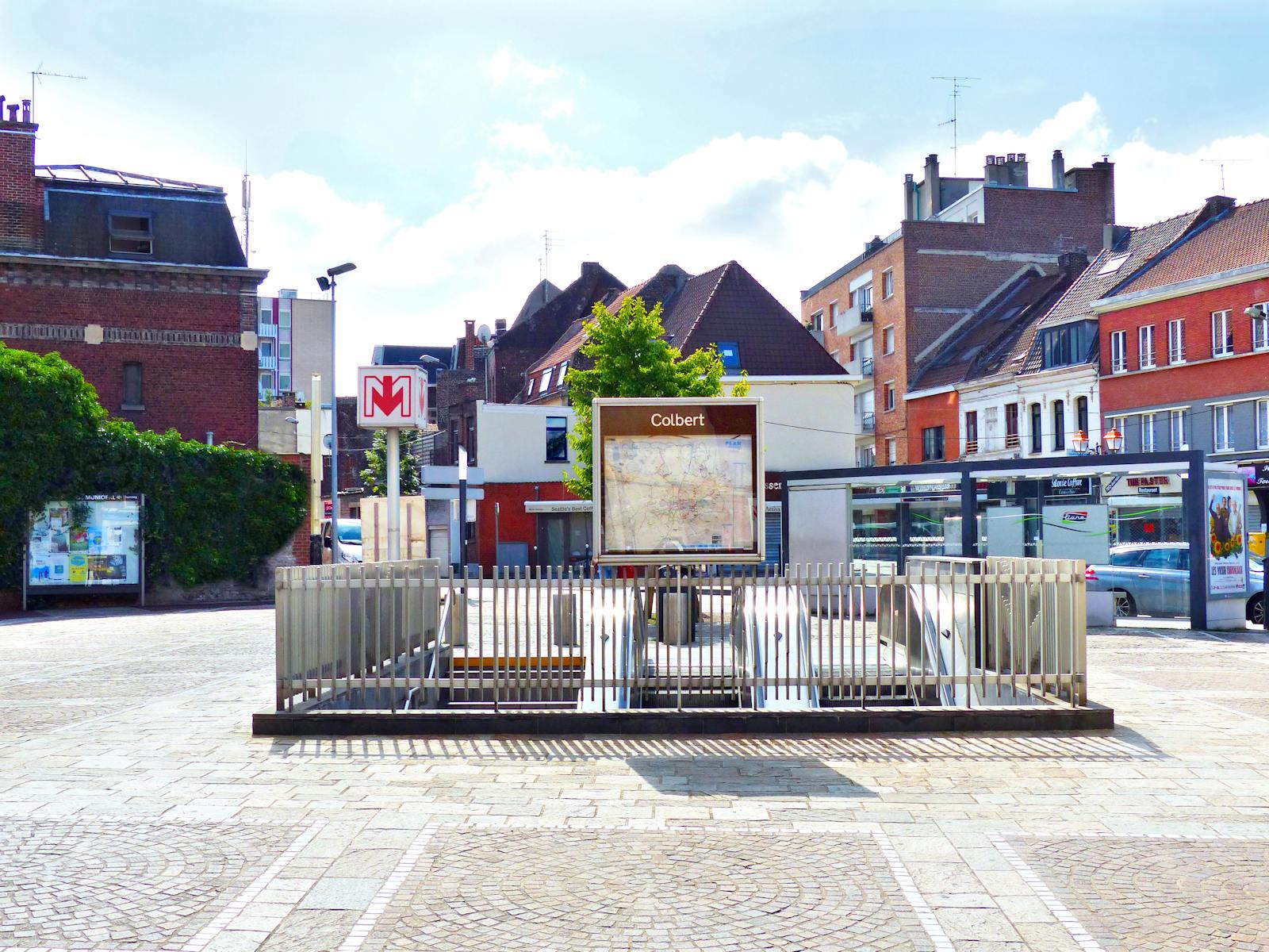 Métro Tourcoing - Station Colbert
