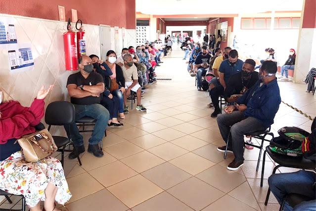 Mais de 5 mil agendamentos: vacinação de pessoas a partir de 40 anos segue em Porto Velho