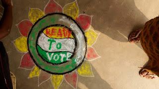 rangoli-for-vote