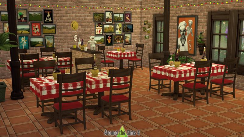 รวมของเสริม The Sims 4 น่ารักๆ สวยๆ จาก Around The Sims 4
