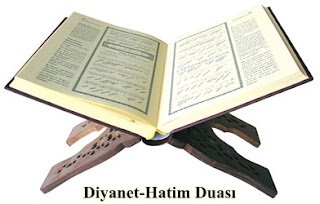 Diyanet-Türkçe Hatim Duasi
