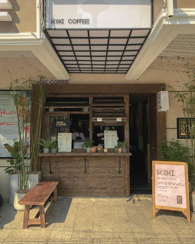 Kohi Coffee - Quán cafe đẹp ở phố đi bộ Nguyễn Huệ
