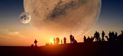आज रात अंतरिक्ष मे दिखेगा अनोखा खगोलीय नजरा - anokhagyan.in