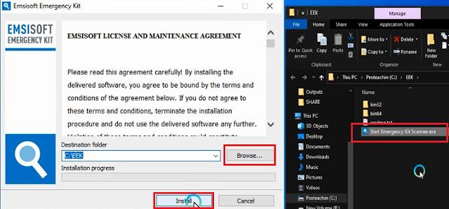 حذف و إزالة جميع الفيروسات من ويندوز 10