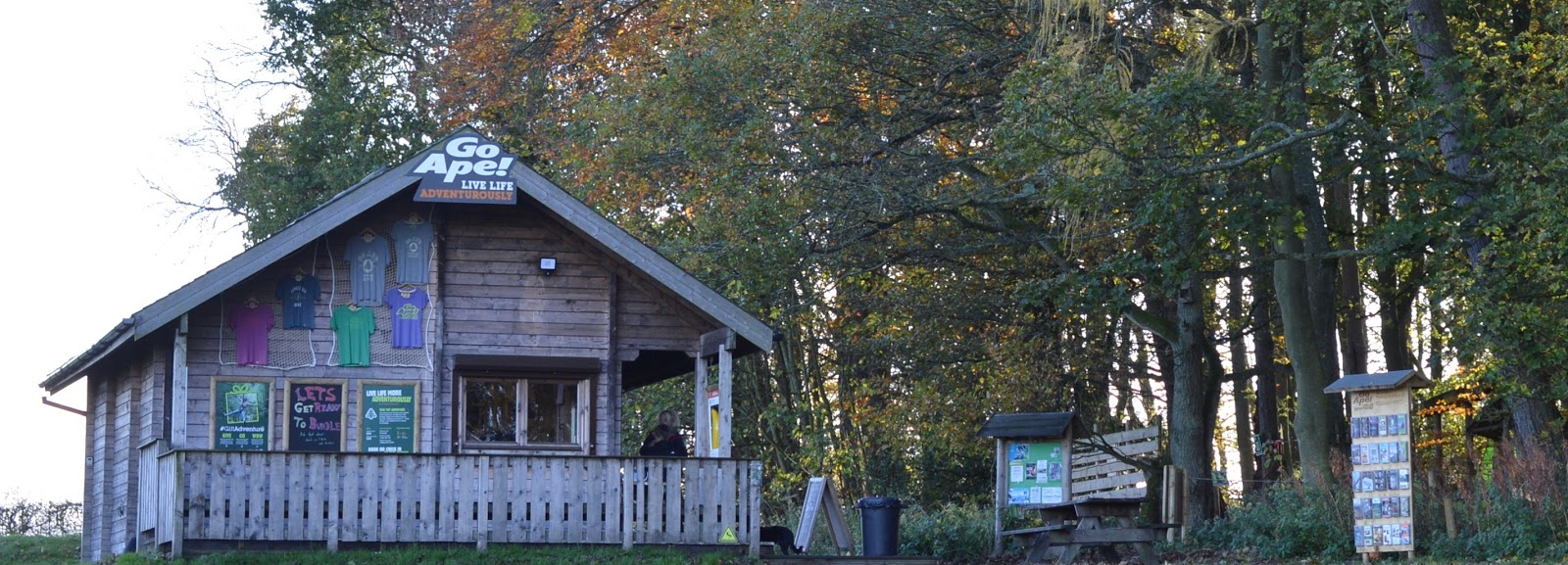 10 Reasons to Stay at Matfen Hall in Northumberland with Kids  - Go Ape! entrance