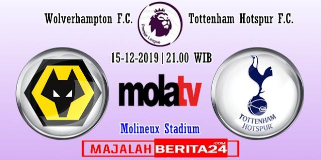 Prediksi Wolverhampton vs Tottenham Hotspur — 15 Desember 2019