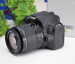 Canon EOS 200D Wi-Fi bekas